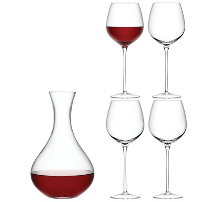 LSA Red Wine Set