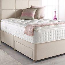 Relyon lyon orthorest mattress sprung edge divan set for Sprung divan base only