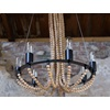Beaded Lamps and Chandeliers