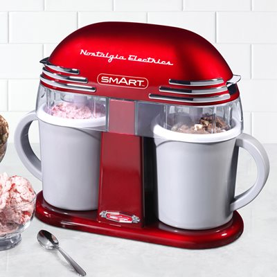 SMART RETRO DOUBLE ICE-CREAM MAKER
