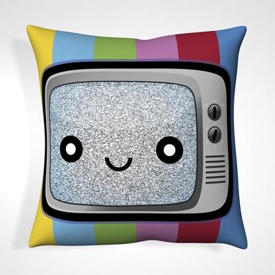 CUSHION in Retro TV Design