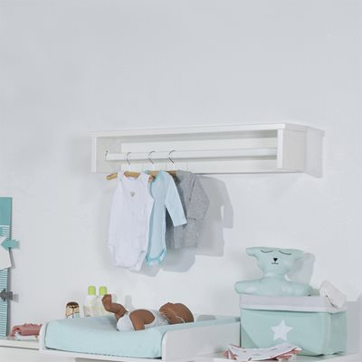 RETRO RIO FLOATING SHELF with Hanging Rail