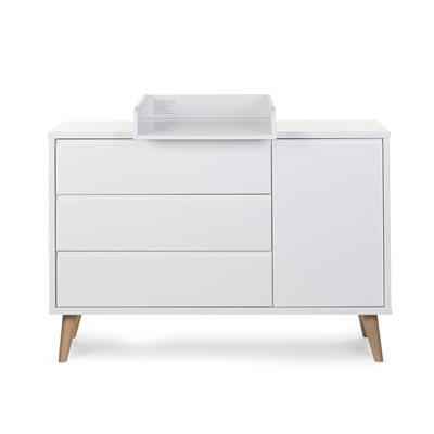 Retro Rio Wide Chest of Drawers with Changing Unit