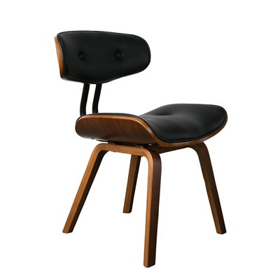 DUTCHBONE BLACKWOOD RETRO LOUNGE & DESK CHAIR in Walnut