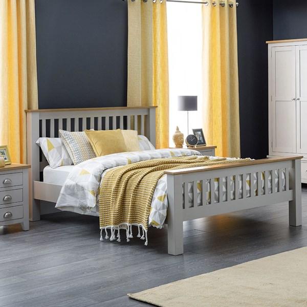 Richmond Wooden Bed in by Julian Bowen