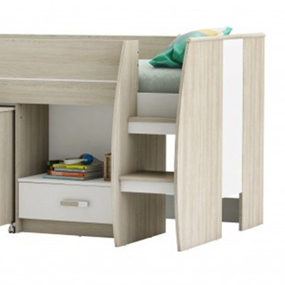 Amelia Mid Sleeper Kids Cabin Bed - Cabin Beds | Cuckooland