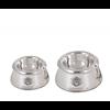Luxury silver dog bowls