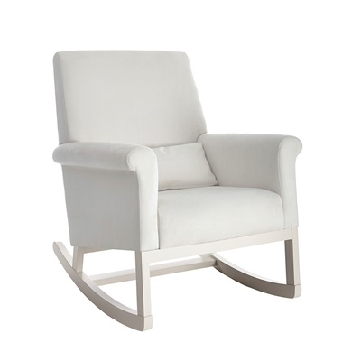 Olli Ella Ro Ki Rocker Nursery Chair In Snow Nursing