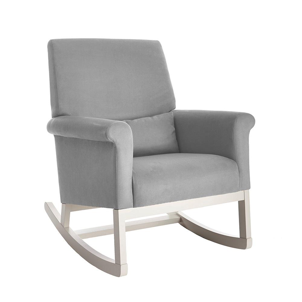 Olli Ella Ro Ki Rocker Nursery Chair In Dove Grey
