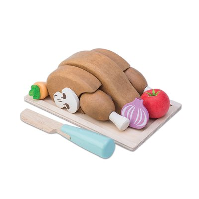 Le Toy Van Honeybake Chicken Sunday Roast Dinner Set