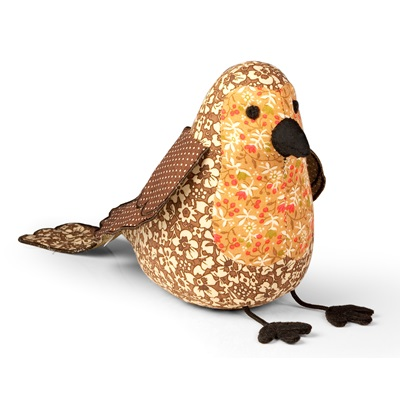 LITTLE ROBIN RED BREAST Bird Animal Paperweight by Dora Designs