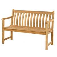 ROBLE BROADFIELD 4FT GARDEN BENCH by Alexander Rose