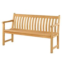 ROBLE BROADFIELD 5FT GARDEN BENCH by Alexander Rose