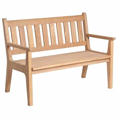 ROBLE OSLO 4FT GARDEN BENCH by Alexander Rose