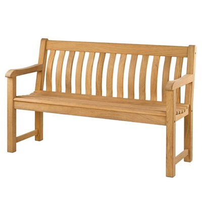 ROBLE ST.GEORGE 5FT GARDEN BENCH by Alexander Rose