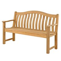 ROBLE TURNBERRY 5FT GARDEN BENCH by Alexander Rose