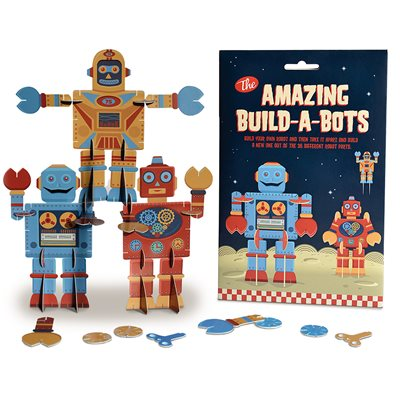 AMAZING BUILD-A-BOTS ACTIVITY KIT