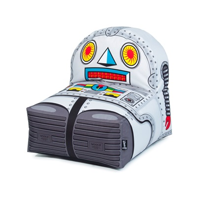KIDS ROBOT BEAN BAG by Woouf