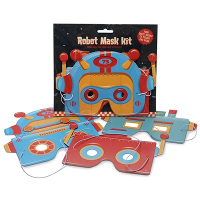 ROBOT MASKS Activity Set