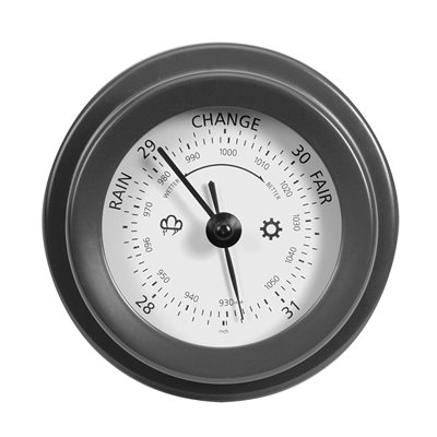 ROCKALL BAROMETER in Charcoal Colour