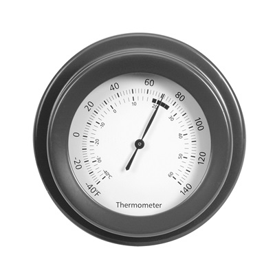 ROCKALL THERMOMETER in Charcoal Colour