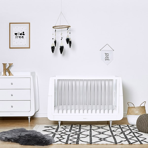 SnuzKot Rococo 2 Piece Nursery Furniture Set