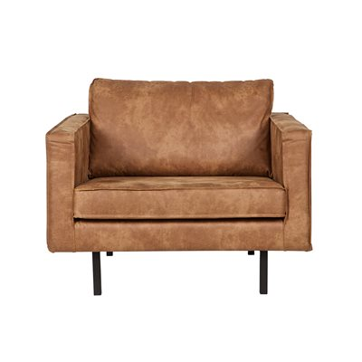Rodeo Leather Armchair in Tan by Be Pure Home
