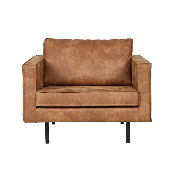 Rodeo Leather Armchair in Tan