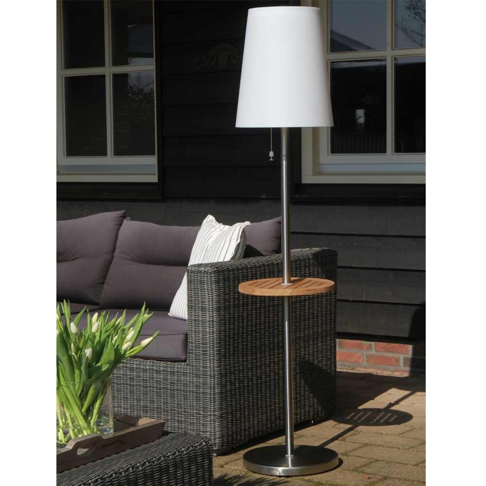 Roots Led Solar Garden Floor Lamp With Auto Function