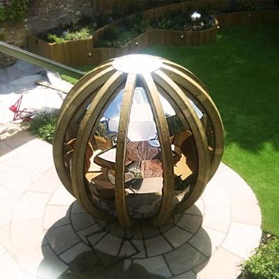 Luxury Rotating Lounger Garden Pod Ornate Garden Cuckooland