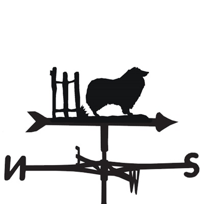 WEATHERVANE in Rough Collie Design