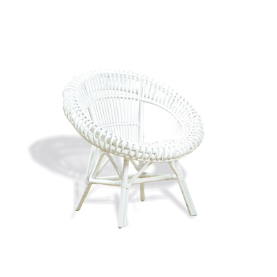 MATAHARI RATTAN CHAIR in White