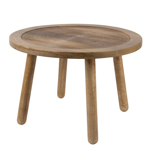 Zuiver dendron side table in solid mango wood zuiver cuckooland for Table zuiver