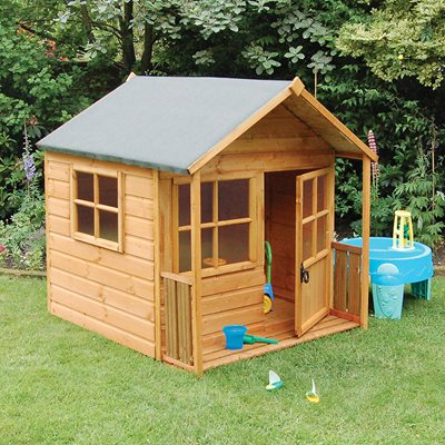 ROWLINSON KIDS PLAYAWAY WOODEN PLAYHOUSE