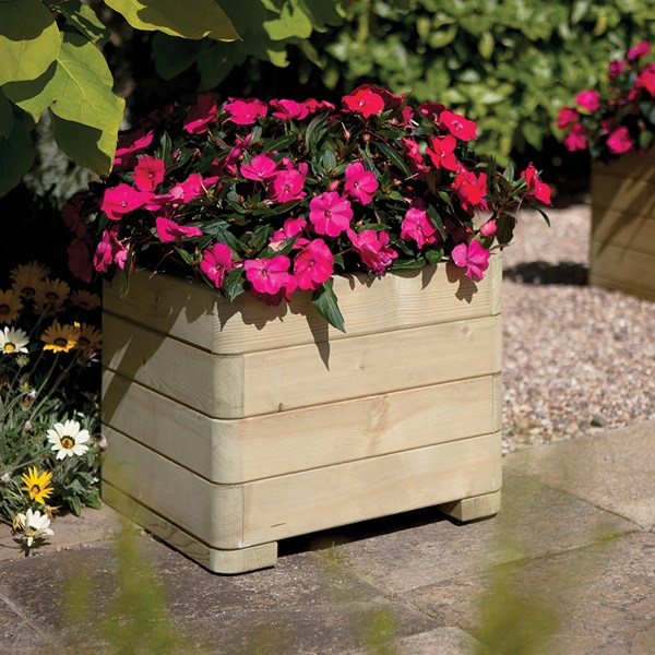 Rowlinson Marberry Wooden Planter