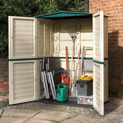 Rowlinson Plastic Tall Storage Unit