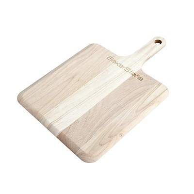 BAKERSTONE BOX WOOD PIZZA PEEL in Rubberwood