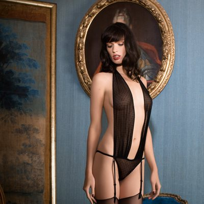 MAISON CLOSE French Lace Rue des Demoiselles Body