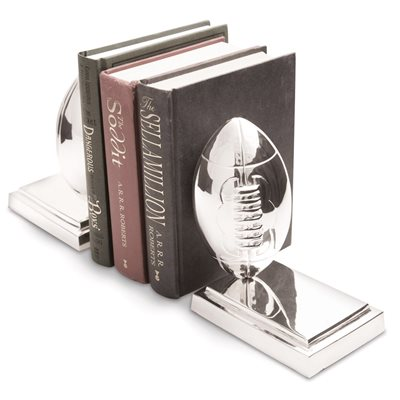 RUGBY BALL Bookends by Culinary Concepts