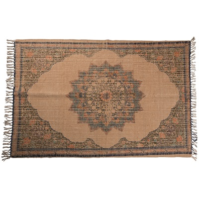DUTCHBONE RURAL WOVEN RUG in Aztec Print