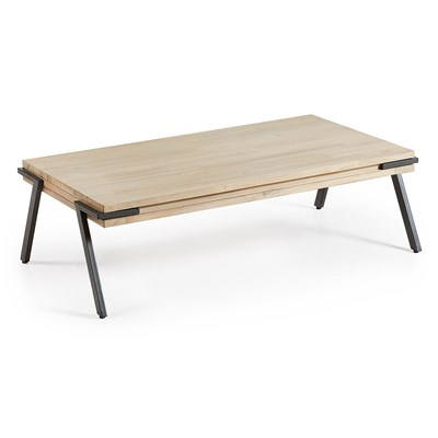 Attrayant ... Rustic Acacia Wood Coffee Table ...