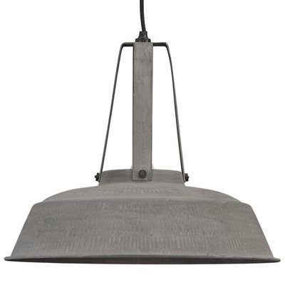 INDUSTRIAL WORKSHOP PENDANT LIGHT in Rustic Grey