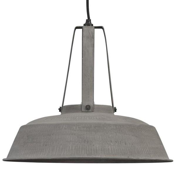 Industrial Workshop Pendant Light in Rustic Grey