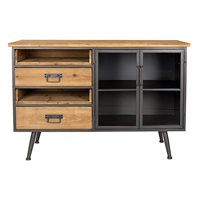 Product photograph showing Damian Industrial Sideboard