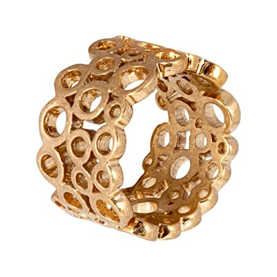 CHAMPAGNE GOLD RING by Sence Copenhagen
