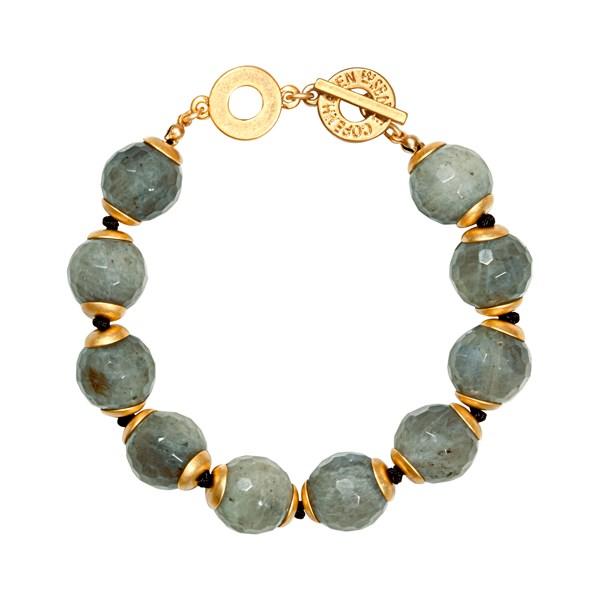 SENCE COPENHAGEN Twilight Bracelet with Labradorite Stones