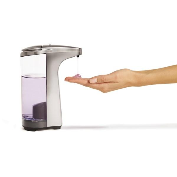 SENSOR SOAP PUMP in Brushed Nickel