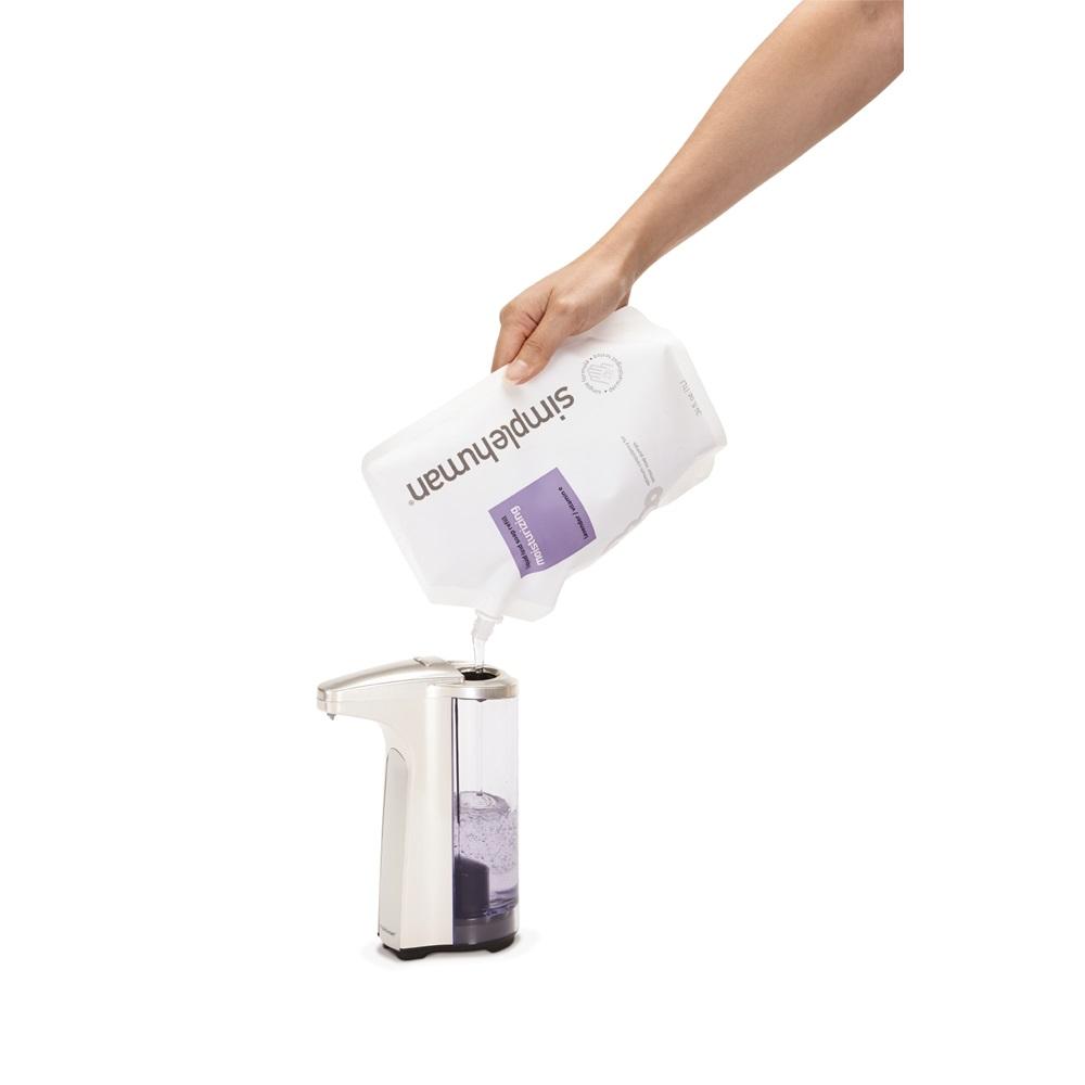Sensor soap pump in brushed nickel - Brushed nickel soap dispenser pump ...