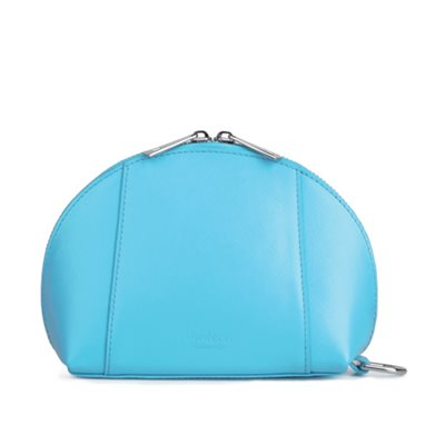 GILLAN Fashion Cosmetic Bag Phone Charger in Sky Blue