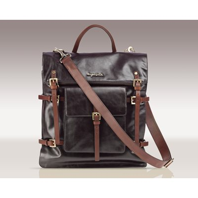 SUGARJACK Oliver Baby Changing Bag in Dark Brown